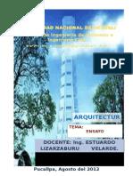 Proyecto Arquitectonico - Vivienda Multifamiliar Pnc