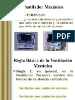 Regla Básica Ventilación Mecanica