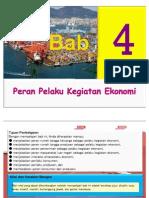 Bab 4. Peran Pelaku Kegiatan Ekonomi