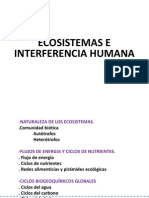 12-Ecosistemas e Interferencia Humana