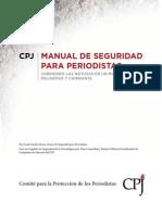 Manual de Seguridad Para Periodistas - CPJ