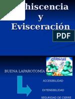 Presentacion Evisceracion y Eventracion