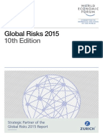 Global Risks 2015 Report