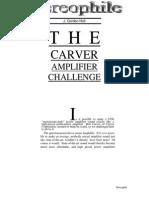 Carver Challenge