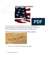 religion in the formation of america - google docs