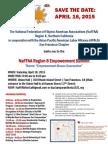 NaFFAA Region 8 Summit on April 18, 2015 - Save the Date!