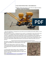 Two Wheel Tractor Newsletter December 2014