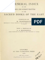 0Sacred Books of the East General Index