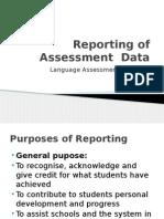 9 Reporting Assessment hok
