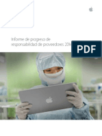 Apple Informe de Proveedores