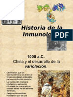 1 Historia de La Imunologia