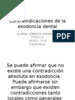 Contraindicaciones de la exodoncia dental (yurumi).pptx