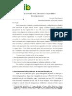 Publicação No Brasil de Obras Relacionadas Às Línguas Bíblicas
