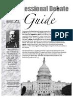 Congressional Debate Guide 2012-10-01
