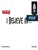 i Believe in Poster