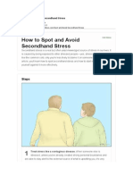 How to Spot and Avoid Secondhand Stress