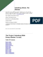 bible, Douay-Rheims Version Challoner Revision 8300-00h