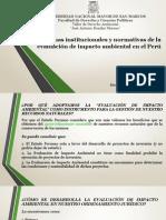 SESIÓN V_Erick García_SEIA Reformas Al Procedimiento de Evaluación de Impacto Ambiental