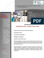 Qualification Pack - Garment Cutter-CAM