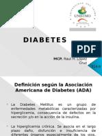 Diabetes mellitus tipo 1 y 2 tratamiento y uso de las insulinas.