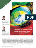 Análisis Dinámico de La Explotación de Cogeneración-subestación de La Aljorra 132KV