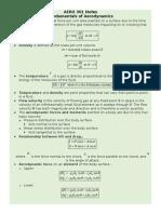 Aero 301 Notes