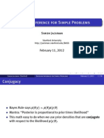 Bayesian Inference for Simple Problems