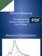 Mixture Modeling