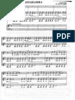 Choir Scores