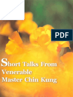Short Talks From Venerable Master Chin Kung