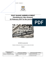 unemployment internal assessment as91225