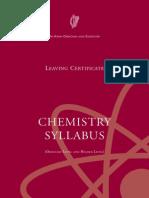 Chemistry Sylabus
