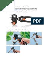Grafting Tool Omega(GYH-8202)