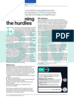 Overcoming the hurdles