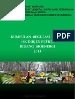 Technical Regulations Book Bioenergi