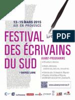 Avant-prog Fes 2015