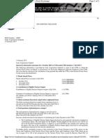NPN Quarterly Disclosure - Q4 2014