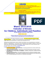 Calendar of Events - March 1, 2015