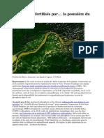 L'Amazonie Fertilisée Par La Poussière Du Sahara