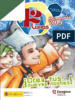 Actividades 12 LUNAS Primavera 2015