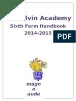 ARK Elvin Academy Parent Handbook Sixth Form