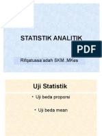 STATISTIK ANALITIK