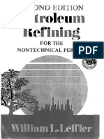 Petroleum Refining for the Nontechnical Person 2nd Ed. Leffler 1985