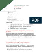 Resumen Normatividad de Residuos Solidos