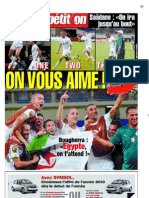 Edition du 25/01/2010