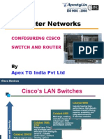 How to Configure CISCO Switch and Router