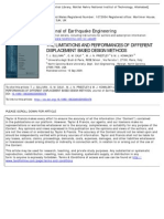 The Limitations and Performances of Different Displacement Based Design Methods