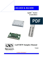 AG-UC2-UC8 - LabVIEW Samples Manual