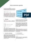 Cauchy momentum equation