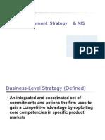 strategic mis